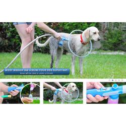 Bañador Aspersor Circular Para Mascotas Perros Gatos 360 Spa B-Wash