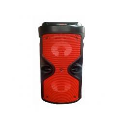 Parlante Portatil de Pie Bluetooth con Microfono 1200 W PMPO