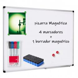 PIZARRA BLANCA MAGNETICA 80x60 CM