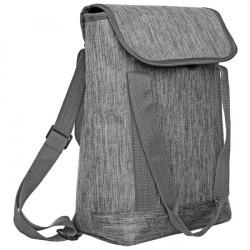 bolso matero gris excelente calidad + envío incluído