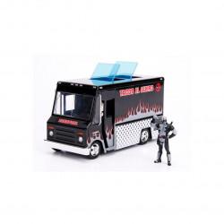 Vehículo de Deadpool Food Truck Negro Escala 1:24