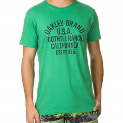 Oakley Remera Dog Tag Verde