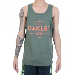 Oakley Musculosa Tank Dark Verde