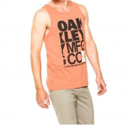 Oakley Musculosa Naranja Tank