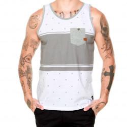 Musculosa Oakley Tanks Blanco y Gris
