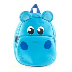 """Mochila Kooshi Neoprene Hipopotamo Azul 10"""""""