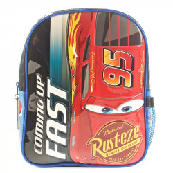 Mochila Cars Coming Up Fast Azul 12""