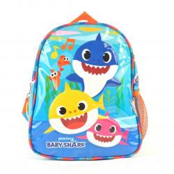 "Mochila Baby Shark Azul 11"""