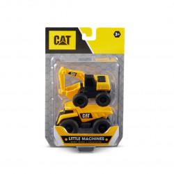 Mini Máquinas De Construcción Cat Vehículos X 2