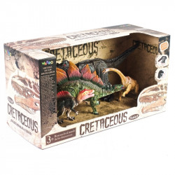 Dinosaurios Sorpresa Cretaceous Set X 4