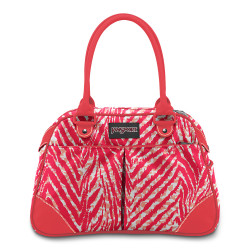 Cartera jansport small duffel animal print