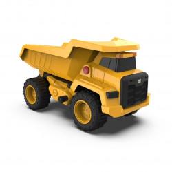 Camión Cat Dump Truck Con Luz Y Sonido 17cm