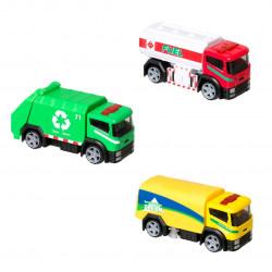 Camiones De La Ciudad Teamsterz