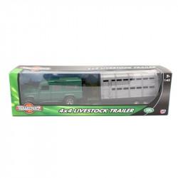 Camioneta 4x4 Con Remolque Teamsterz