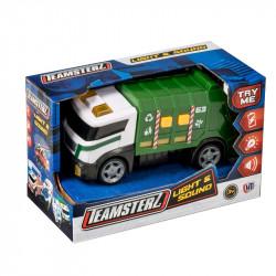 Camion De Basura Con Luz Y Sonido Teamsterz