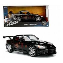 Auto Negro Estampado Metals de Rápido y Furioso Escala 1:24