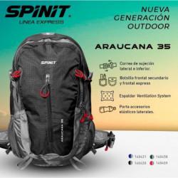 MOCHILA SPINIT ARAUCANA AZUL FR - 35 LT