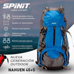 MOCHILA SPINIT NAHUEN PETRO - 45 + 5 LT