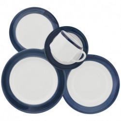 Set de vajilla Aquarela azul 30 Pzs Biona (AE30,5113)