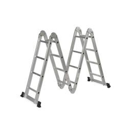 Escalera multipropósito 4x4 4.6 mts Aluminium