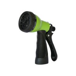 Pistola de riego 7 funciones con mango ergonomico de goma RIEG0040