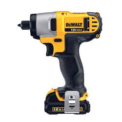 Atornillador De Impacto Hex 1/4 (6.4mm) 12 volts Dewalt DCF815S2-AR