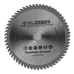 Sierra circular widia 230mm 60 dientes Kleber FOX10510