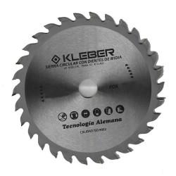 Sierra circular widia 178mm 30 dientes Kleber FOX10450