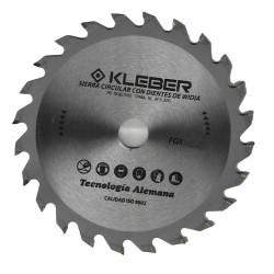 Sierra circular widia 178mm 24 dientes Kleber FOX10440