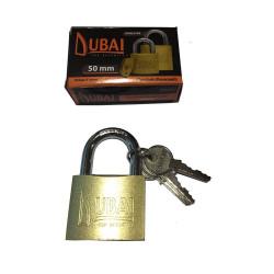 Candado bronceado 63mm Dubai EVOL3160