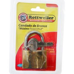 Candado de bronce pesado 50mm Rottweiler EVOL0079