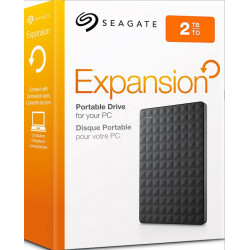 DISCO EXTERNO 2TB SEAGATE EXPANSION PLUS USB 3.0