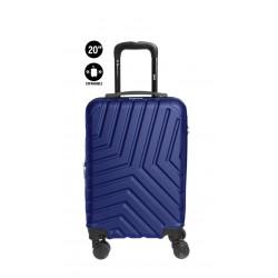 "Valija rigida de ABS Unicross de 20""azul"