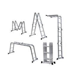 Escalera multipropósito 4x3 3.5 mts Aluminium