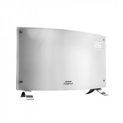 Vitroconvertor Peabody PE-VQD20B Blanco con display digital panel tactil curvo
