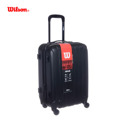 "VALIJA RIGIDA WILSON CARRY ON 24""- 4 RUEDAS NEGRO 65.1706"