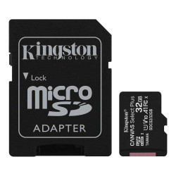 TARJETA DE MEMORIA MICROSD 32GB KINGSTON CANVAS PLUS CLASE 10 UHS-I 100 MB/s
