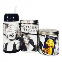 Combo mate listo yerbera y azucarera Marilyn Monroe