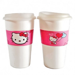 Vasos Térmicos x2 Hello Kitty