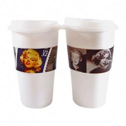 Vasos Térmicos x2 Marilyn Monroe