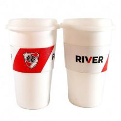 Vasos Térmicos x2 River Plate