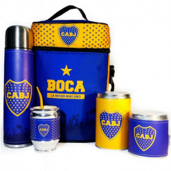 Equipo de Mate Boca Juniors