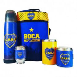 Equipo de Mate Boca Juniors Lumilagro