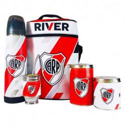 Equipo de Mate River Plate Lumilagro