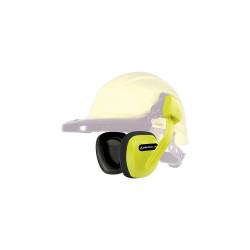 Protector auditivo para casco-SNR 27DB-Ama. fluo Delta Plus SUZU2JAFL