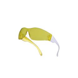 Gafas policarbonato amarillo AR-UV400 Delta Plus BRAV2JA