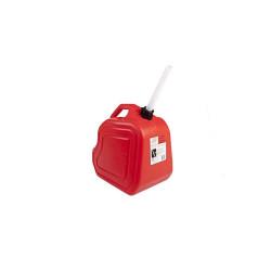 Bidón para transporte de combustible x10Lts rojo Soch