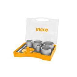 Juego de sierra copa x7 caja de plástico Ingco AKCH0071