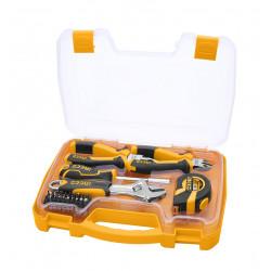 Juego de herramientas manuales 25 piezas Ingco HKTH10258