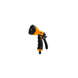 Pistola de riego plástica 9 funciones Ingco HWSG092